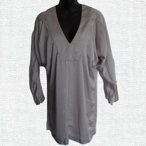 "French Connection ""Silver Grey"" Tunic NWT- Size 4"